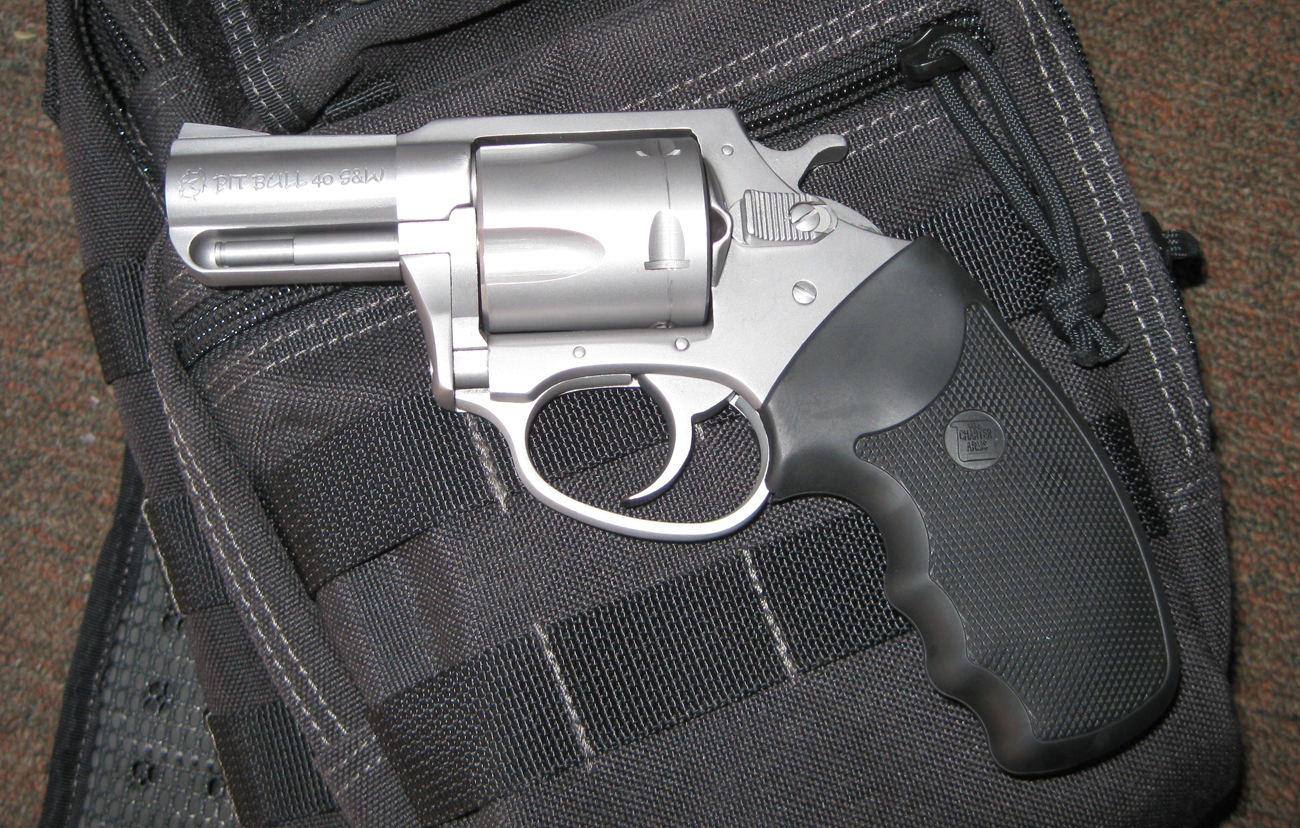 New Charter Arms Pitbull  40 S&W Revolver Review