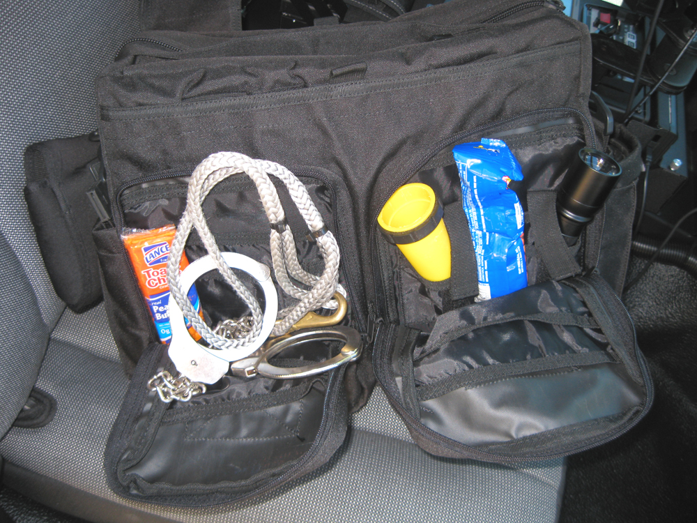 L  A  Police Gear Jumbo Bail Out Bag Review