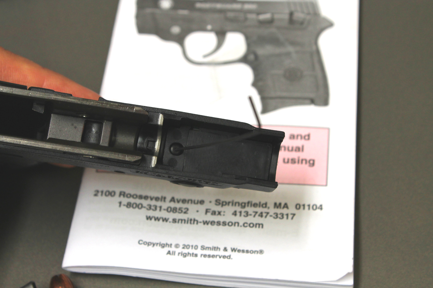 Smith & Wesson Bodyguard 380 Laser Batteries