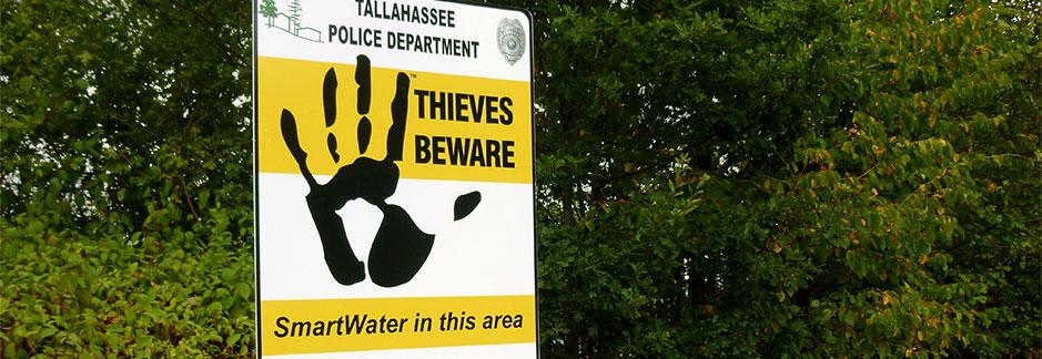 SmartWater CSI Beware