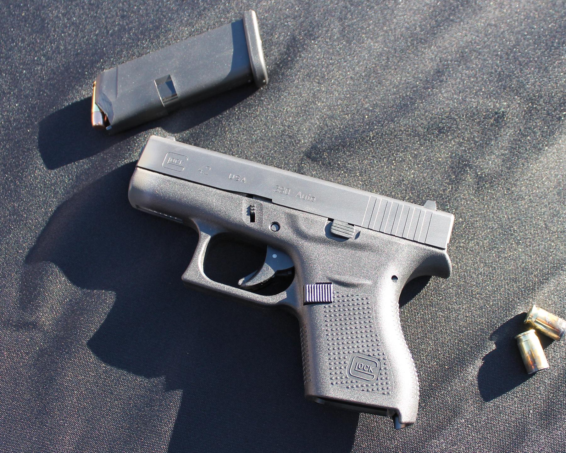 Glock 42 and magazine
