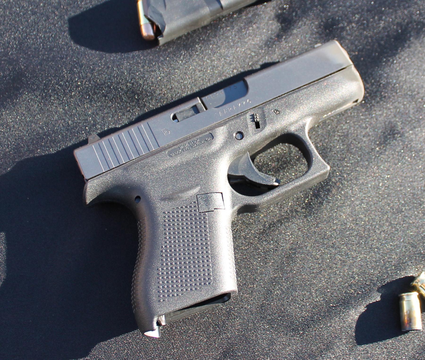 Shooting the New Glock 42 at SHOT Show 2014 Media Day at the Range | ThinBlueFlorida.com
