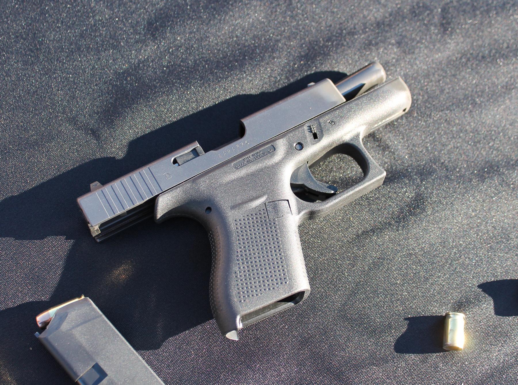 Glock 42 slidelock