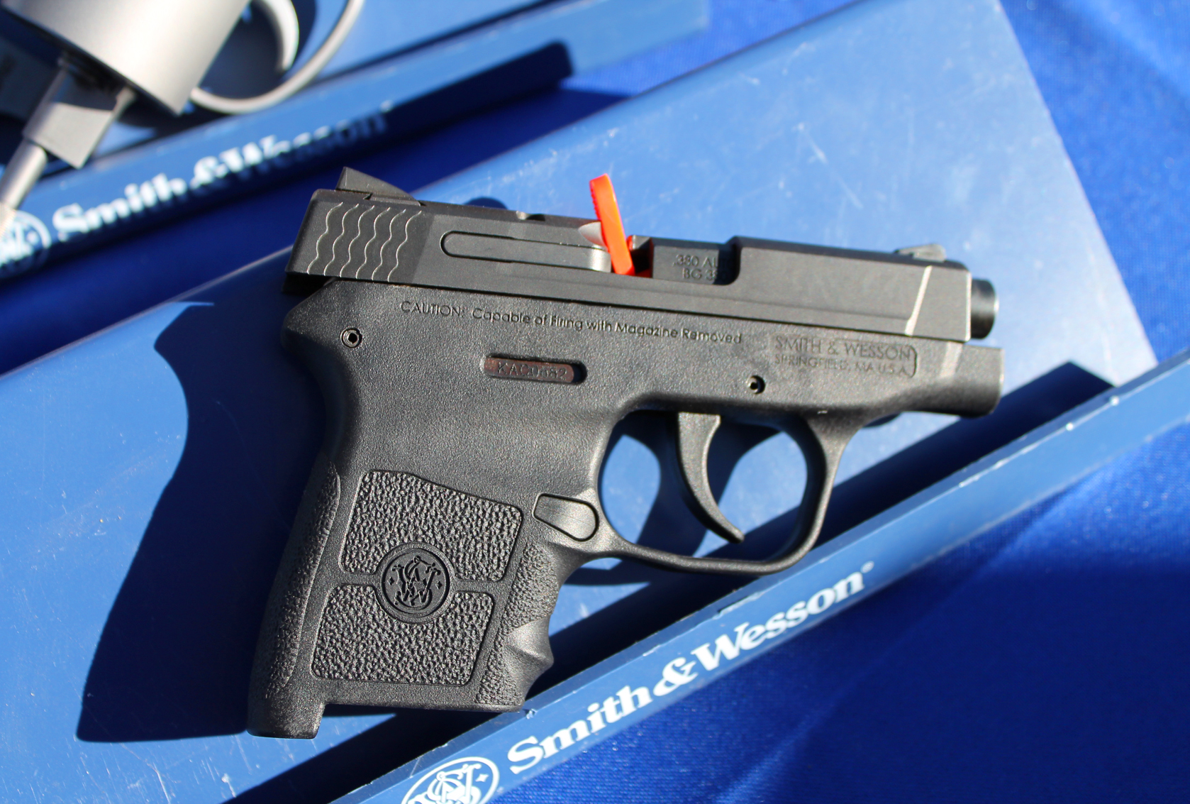 Shooting the New Smith & Wesson M&P Bodyguard 380