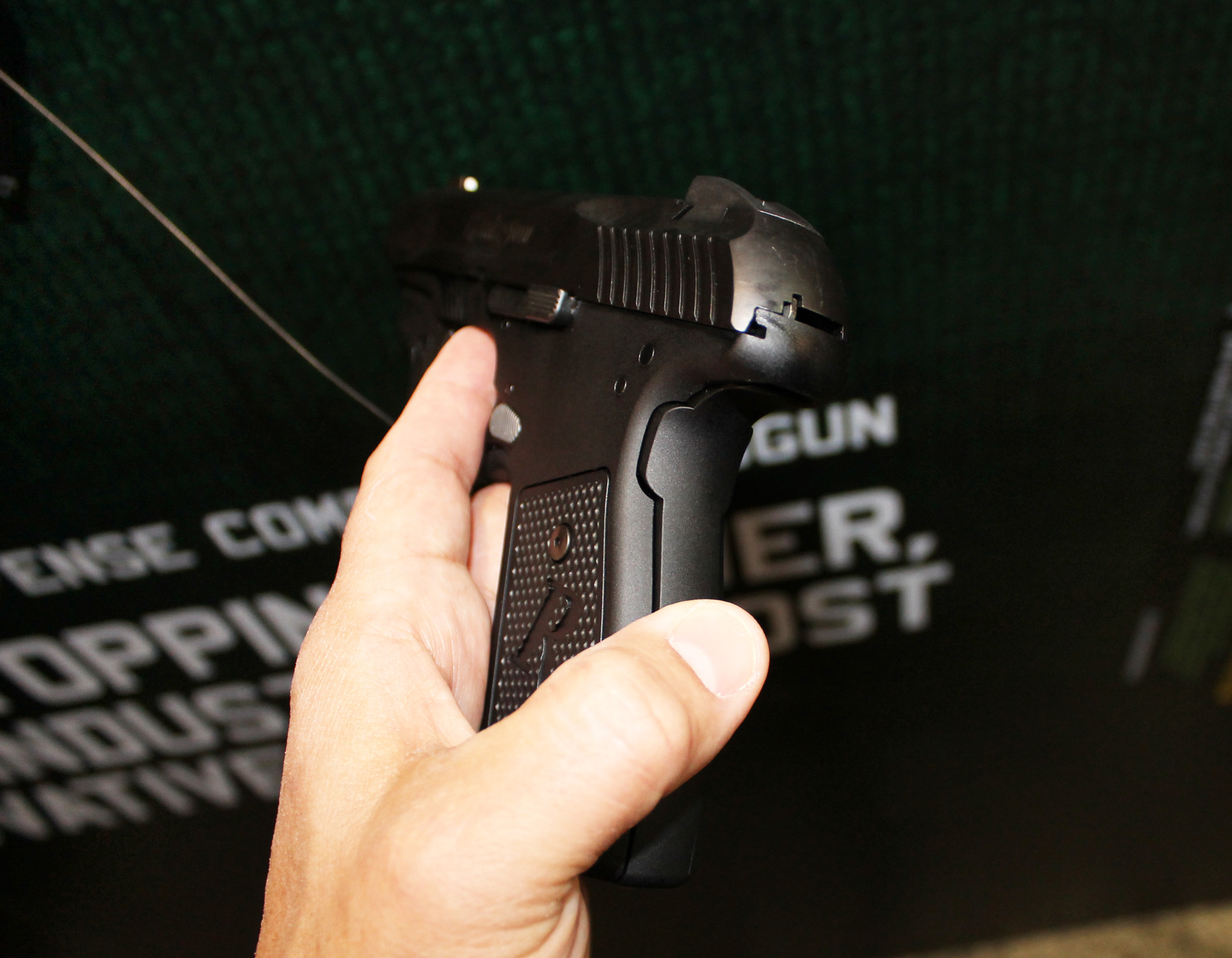 Remington R51 safety