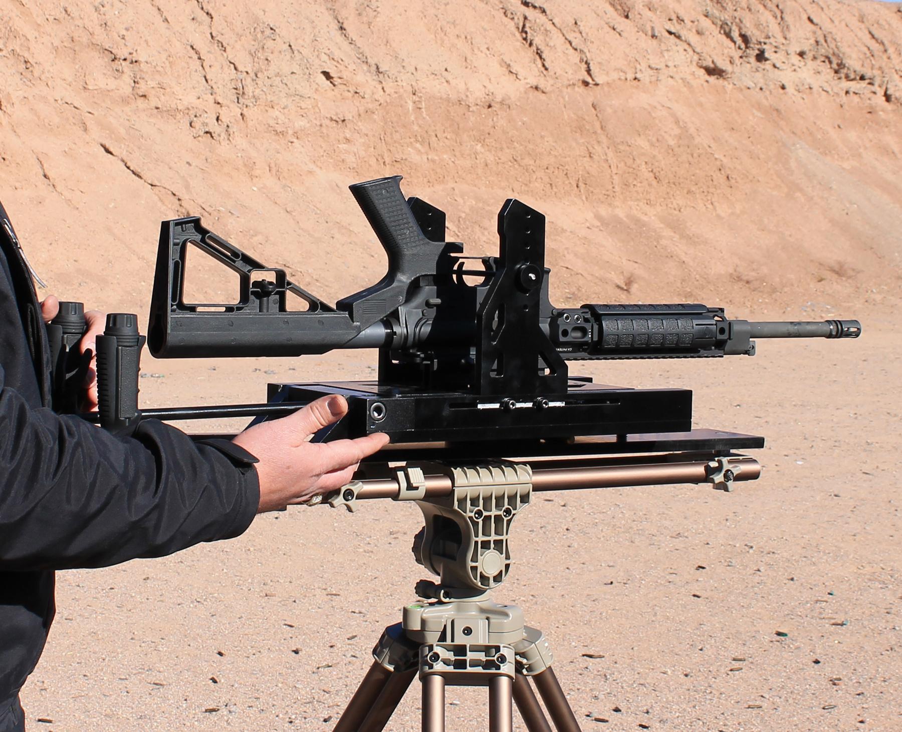 Slide Fire AR-15 close