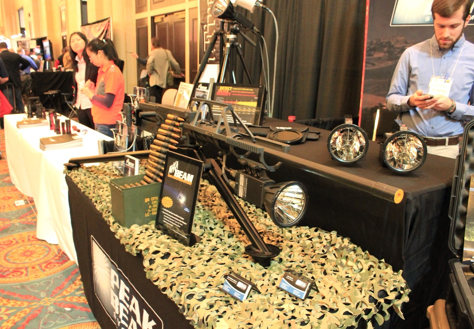 SHOT Show Machine Gun