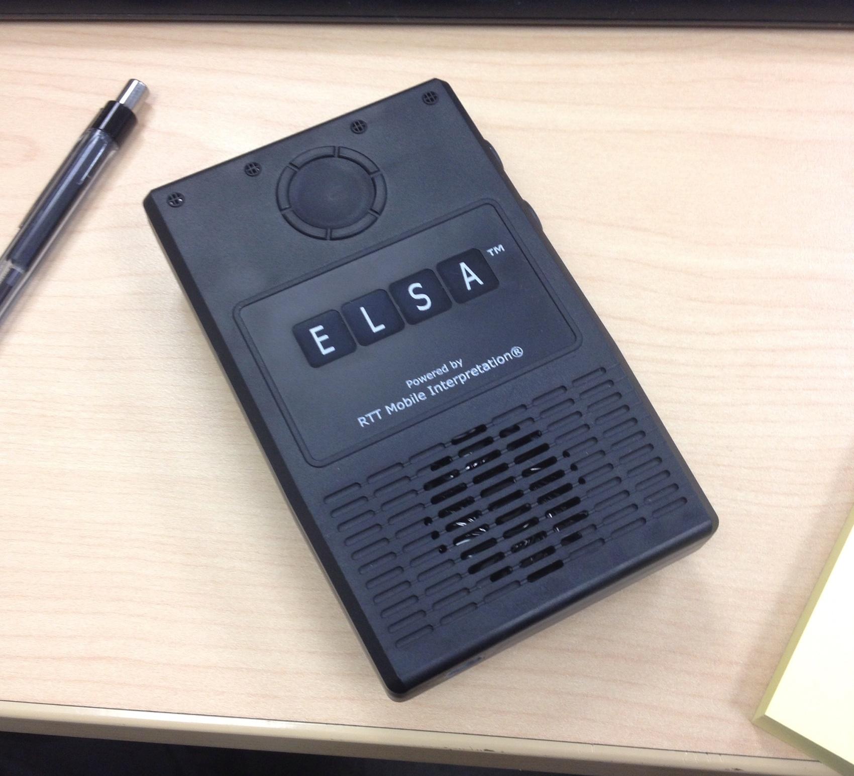 ELSA RTT Device