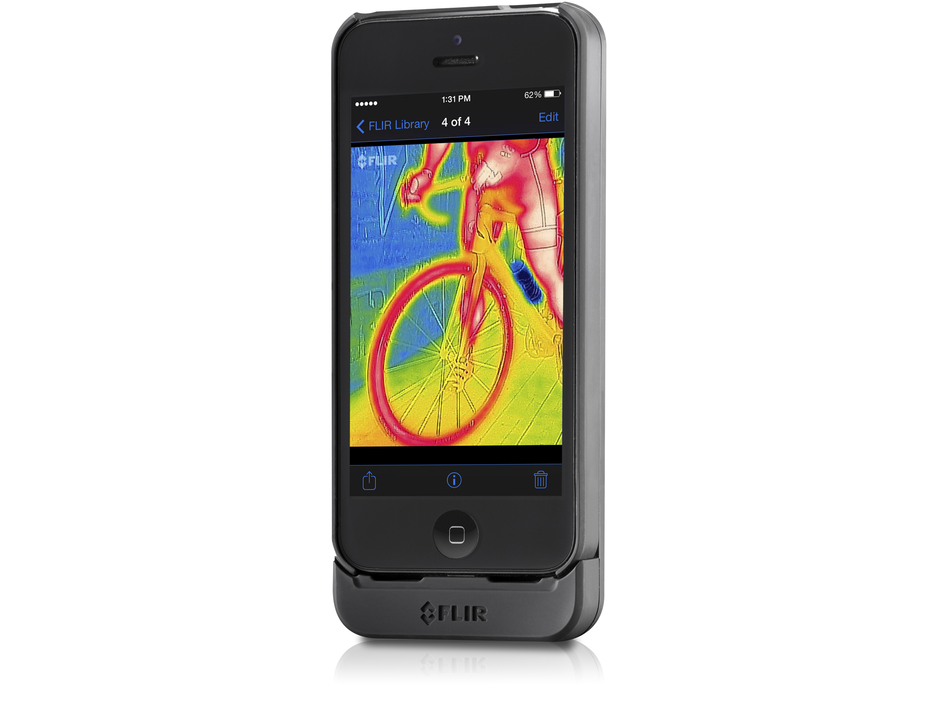 FLIR One Bicycle