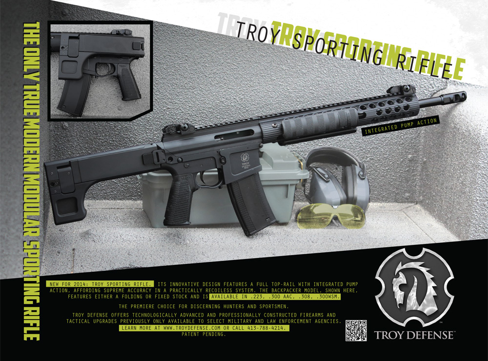 Troy Pump Action Rifle