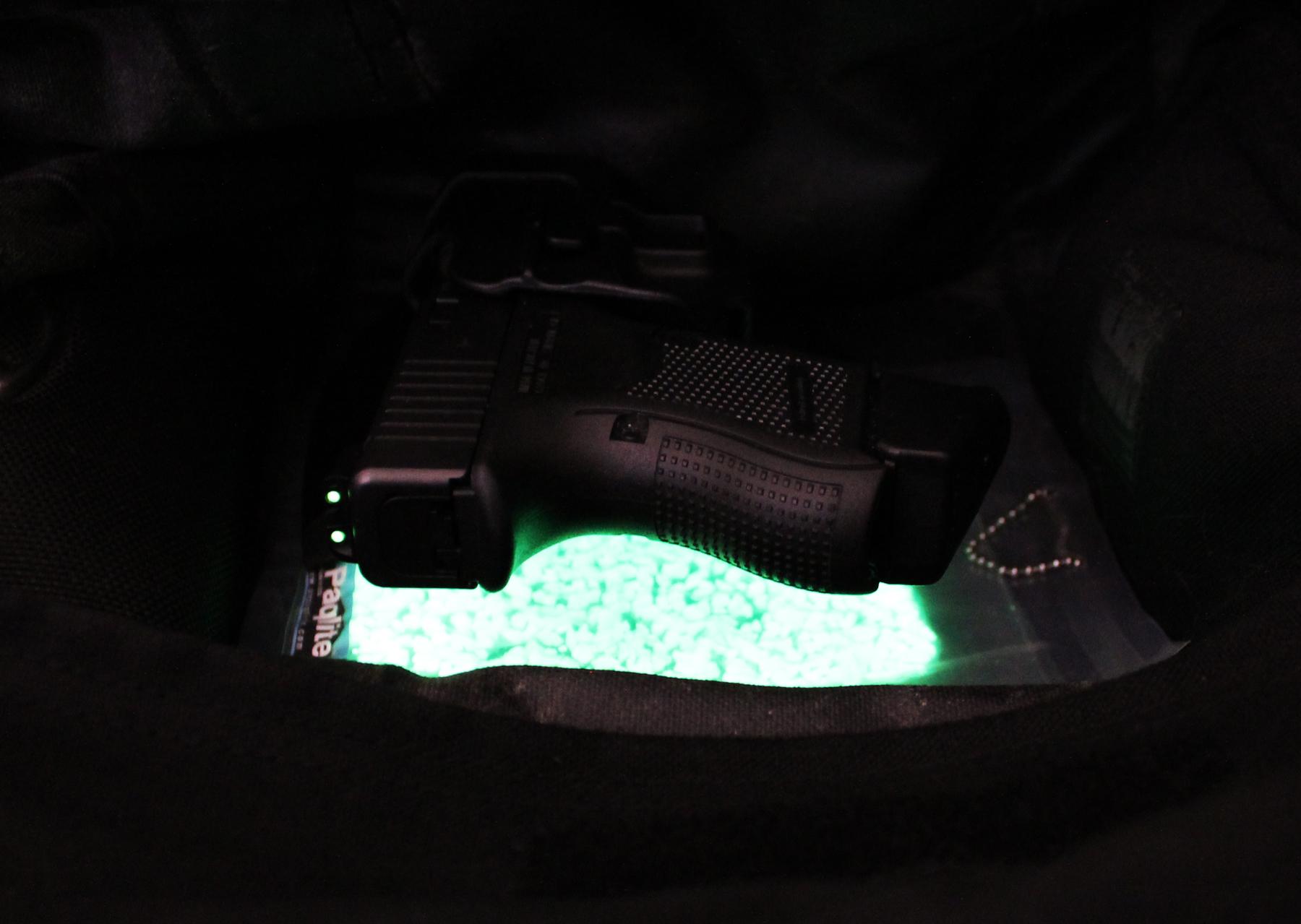 UV Paqlite Stakeout