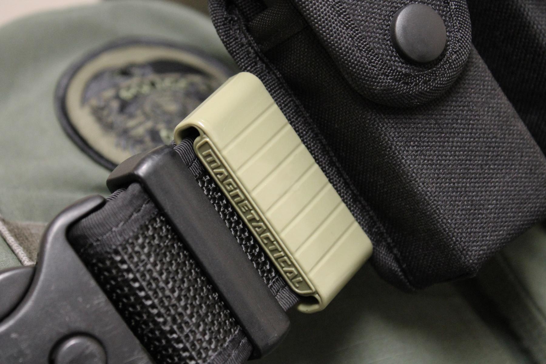 Magnetactical OD belt clip