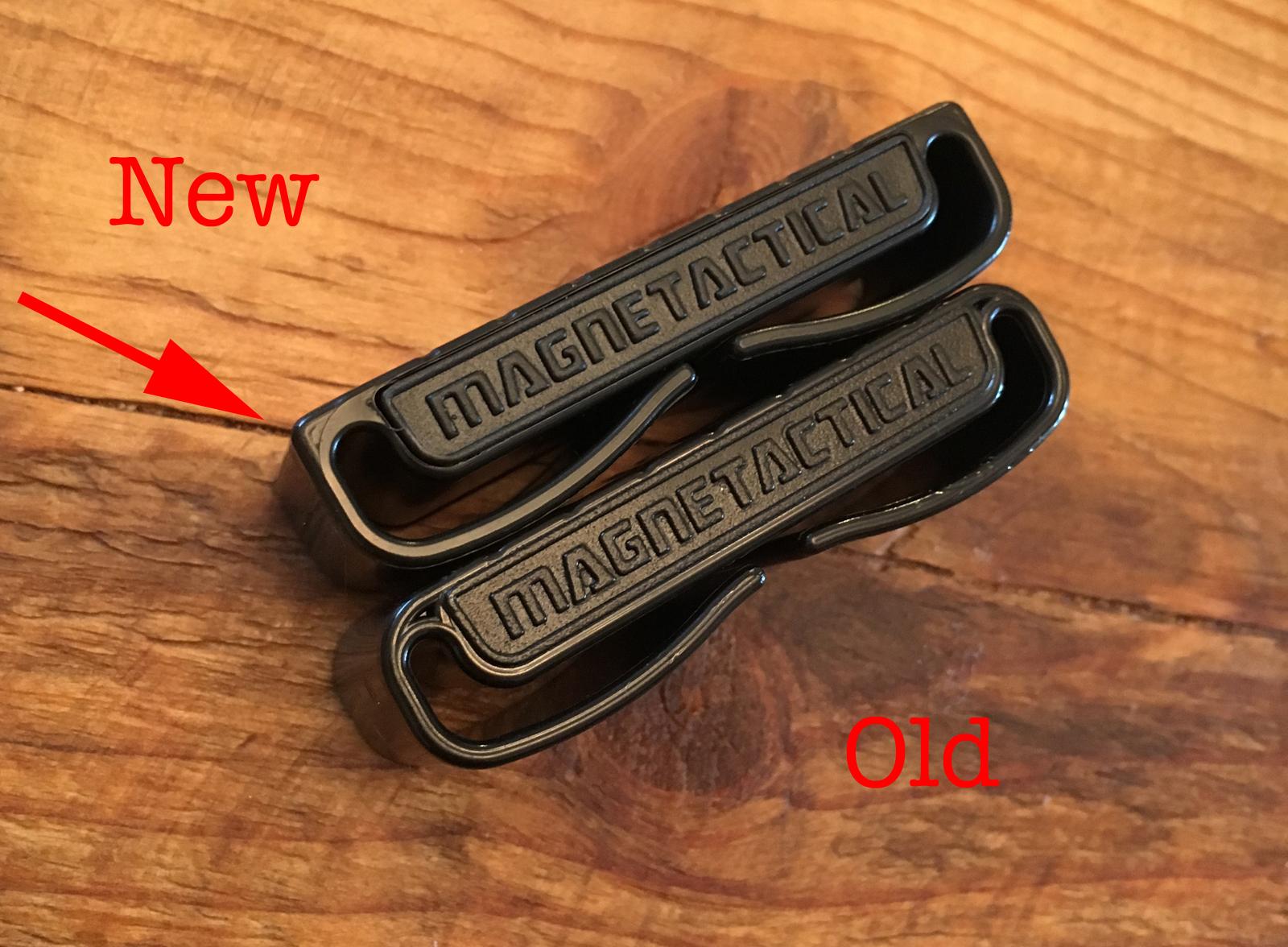 New Magnetactical belt clip