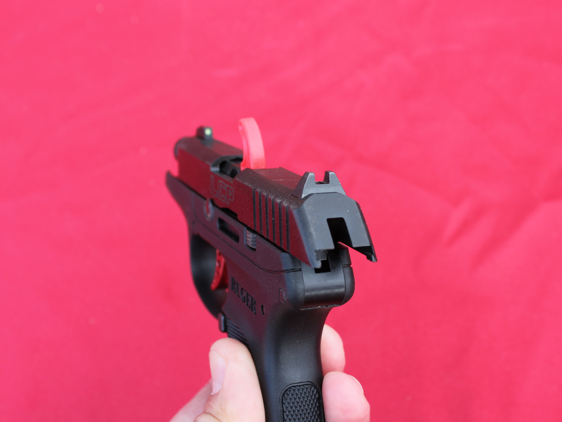 Ruger LCP rear sight