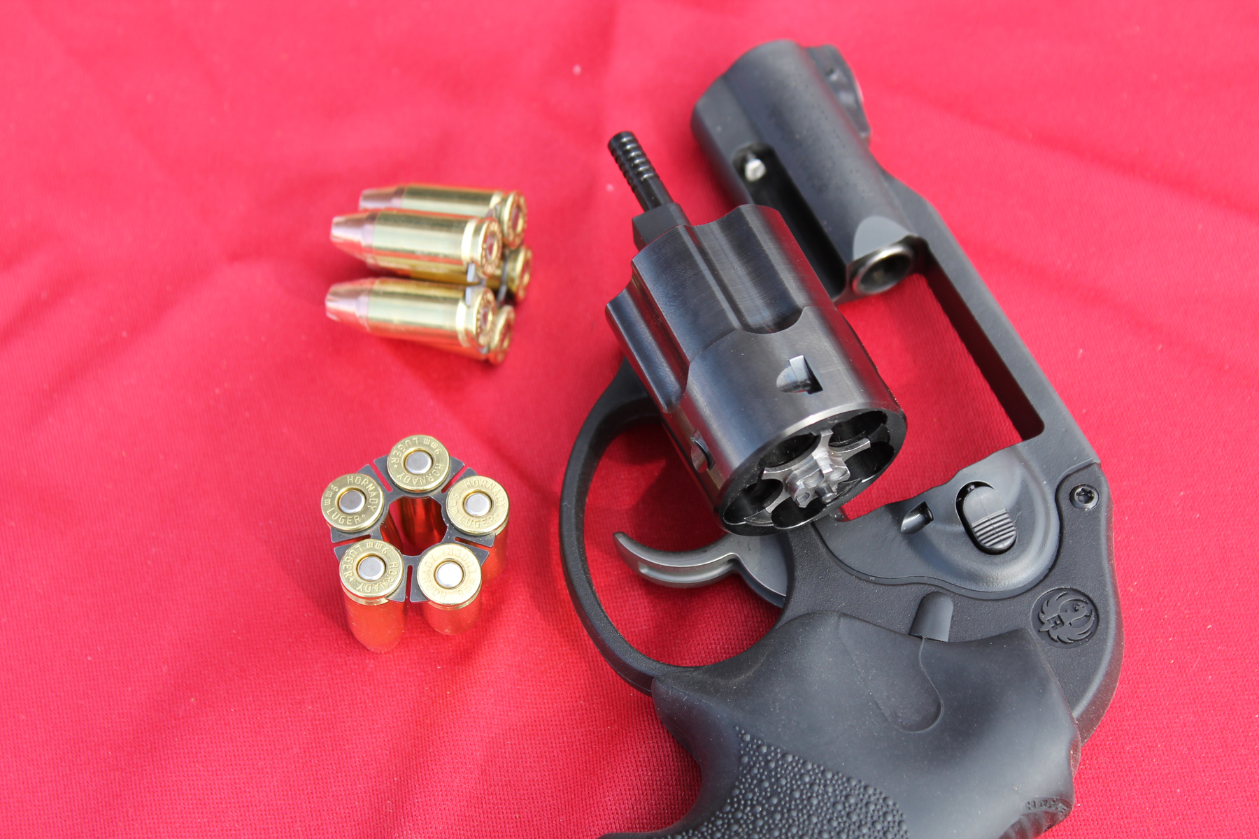 Ruger LCR and 9mm moon clips