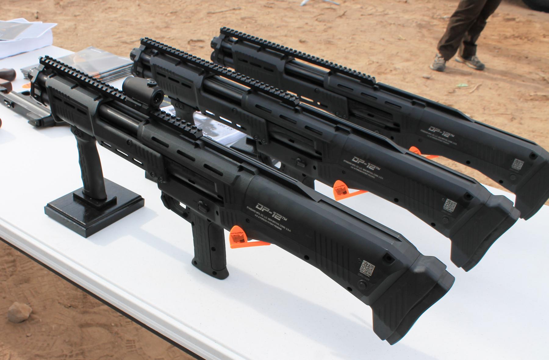 Standard DP-12's reverse