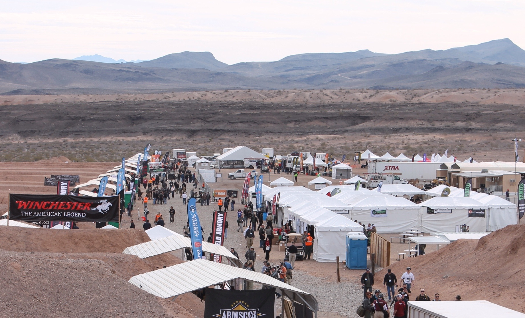 SHOT Show 2015 Industry Day at the Range