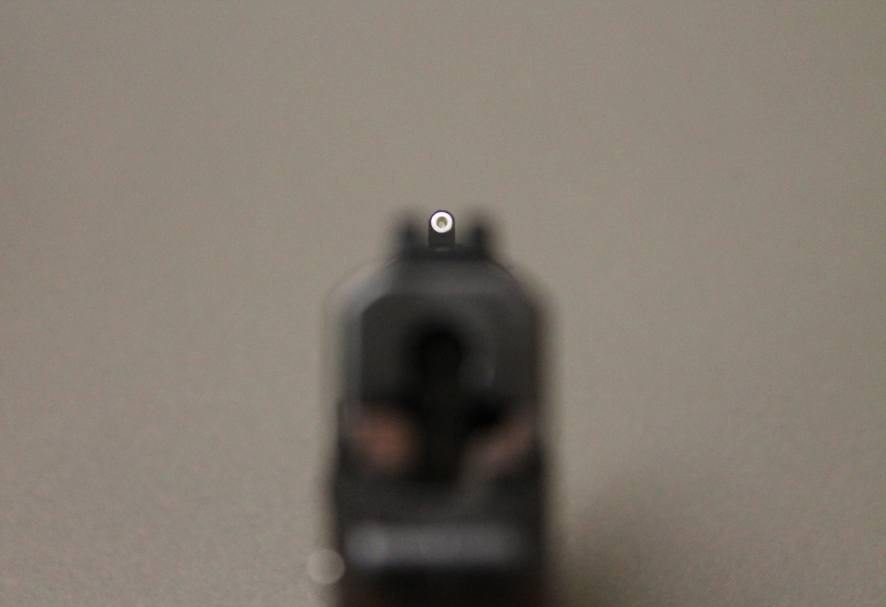 Smith & Wesson Bodyguard 380 XS sight picture