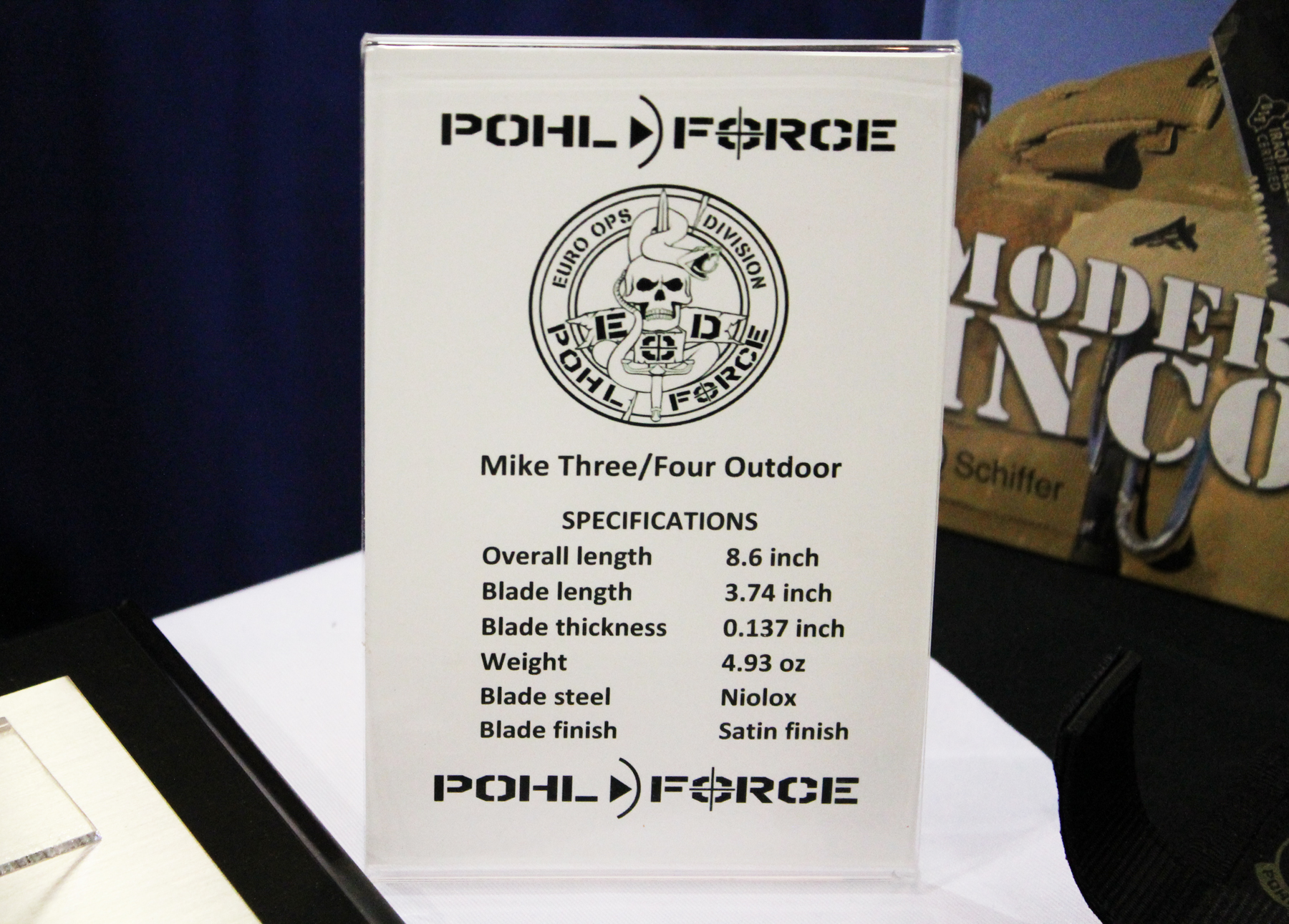 Pohl Force Mike 3 and 4 Outdoors