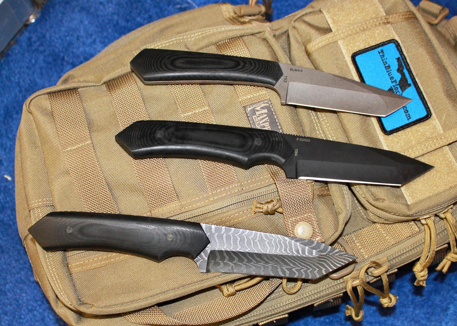 Schenk Knives Trio reverse