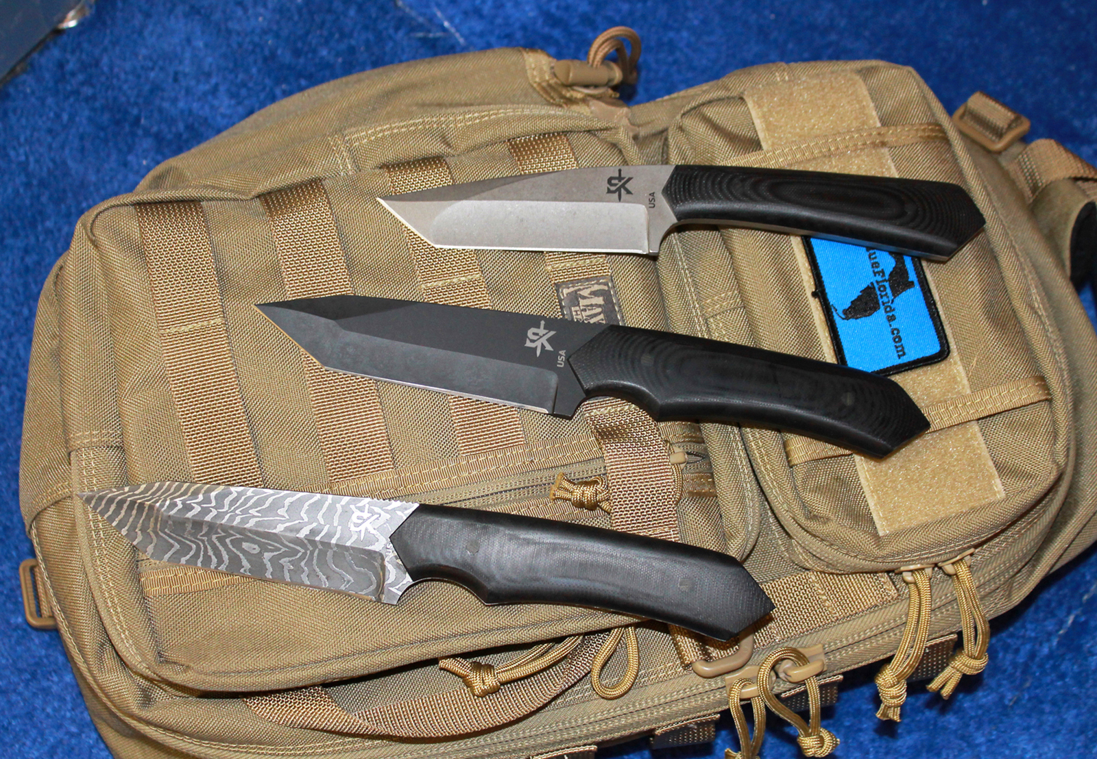 Schenk Knives Trio