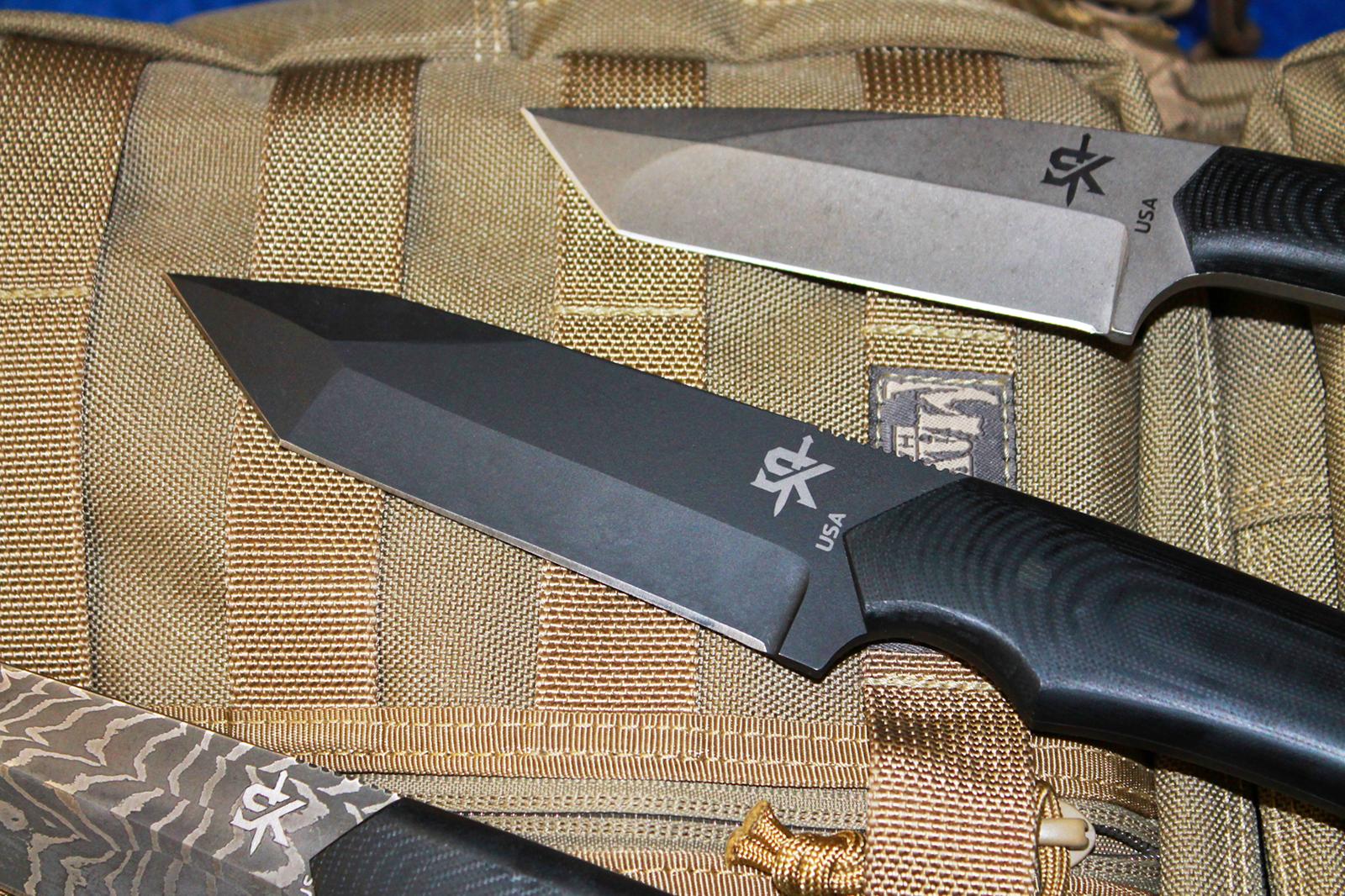 Schenk Knives blades