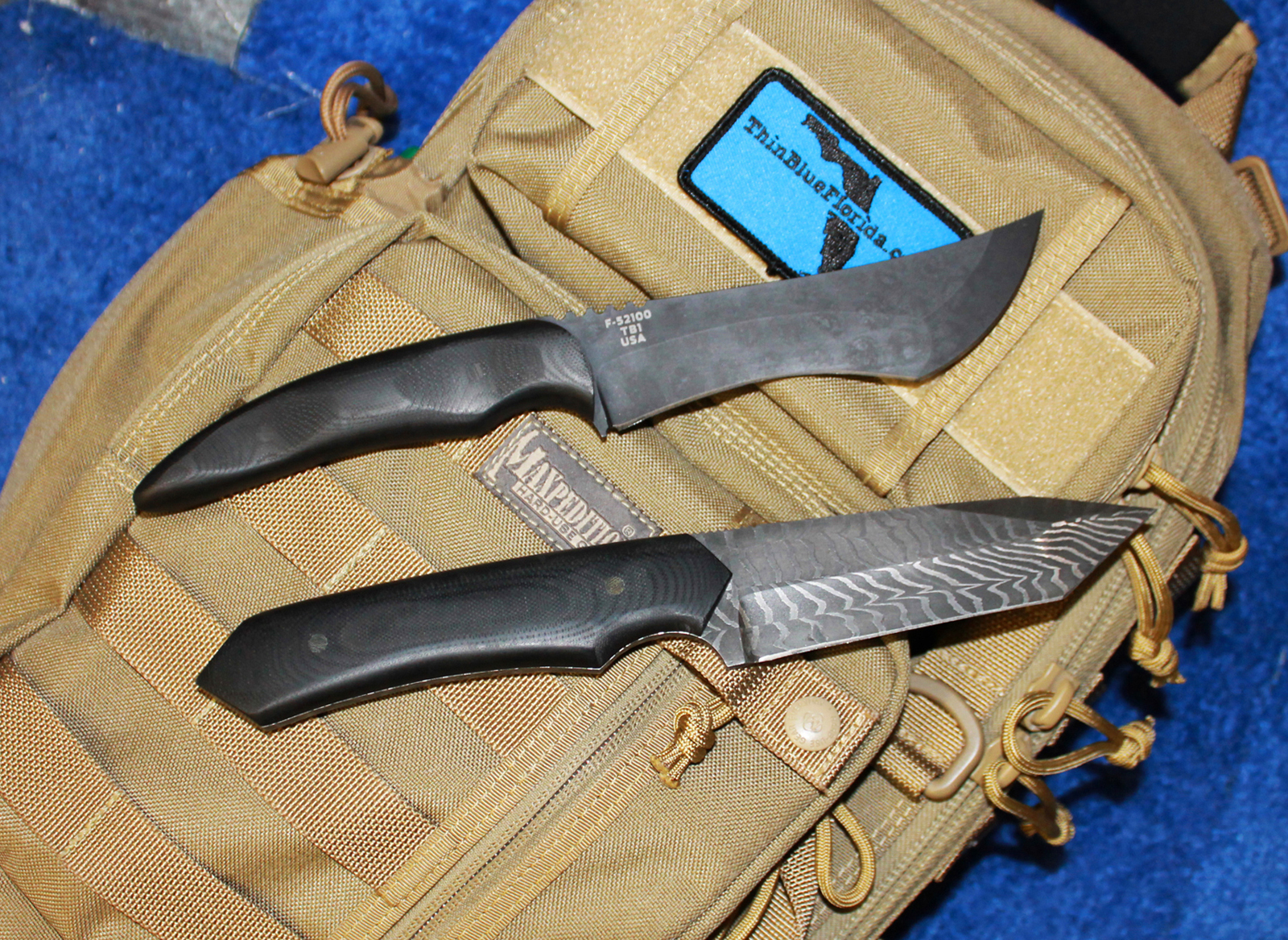 Schenk Knives duo reverse