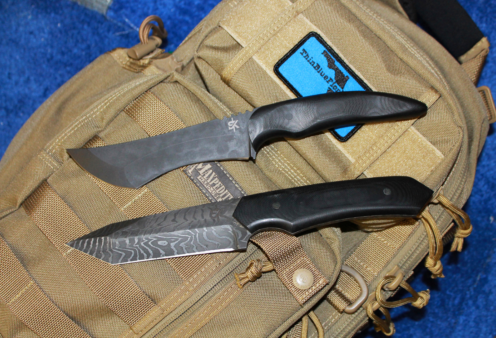 Schenk Knives duo