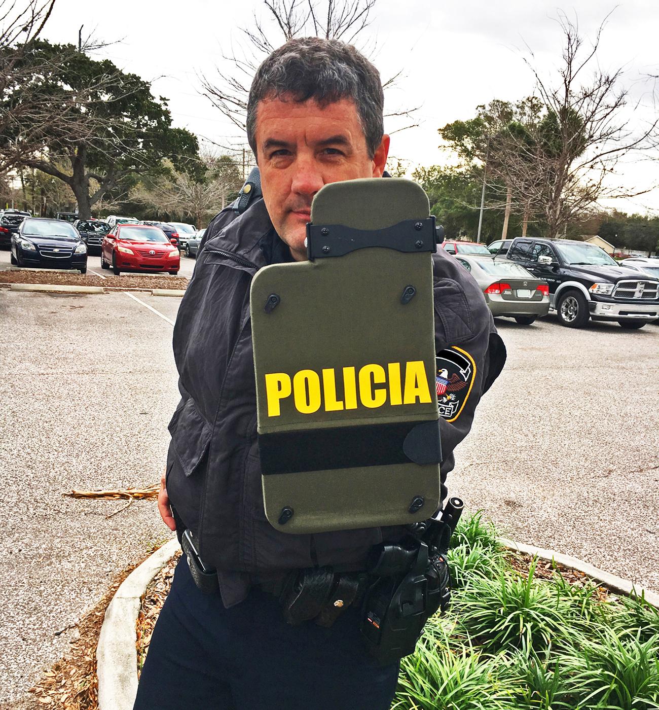 Riggs Shield Officer